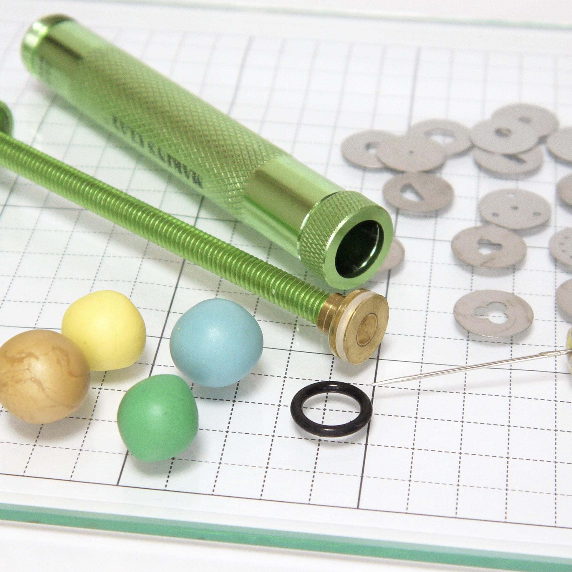 Polymer clay工具「クレイ エクストルーダ」ゴムリング